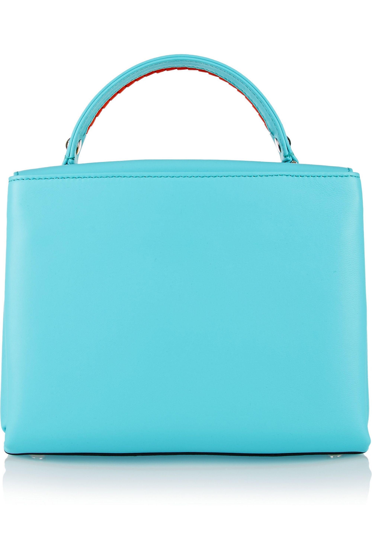 Paula Cademartori Petite Faye embellished elaphe and leather shoulder bag
