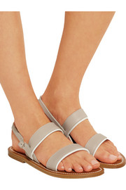 Barigoule leather sandals