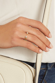 Orbit 18-karat gold diamond ring
