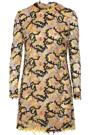 Mary Katrantzou Embellished tulle mini dress