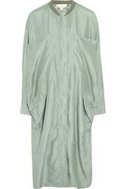 Stella McCartney Turner oversized silk-voile jacket
