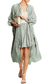 Turner oversized silk-voile jacket