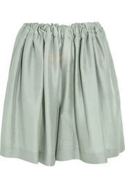 Stella McCartney Ophelia silk-voile shorts