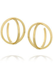 Creole 18-karat gold earrings