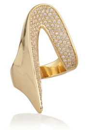 Memphis 18-karat gold diamond ring