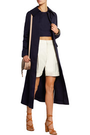 Valentino Cotton and linen-blend coat