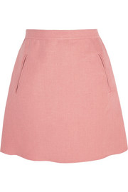Valentino Linen mini skirt