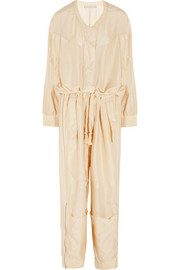 Carla oversized silk jumpsuit