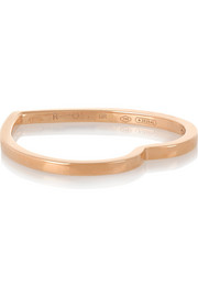 Repossi Antifer 18-karat rose gold heart ring
