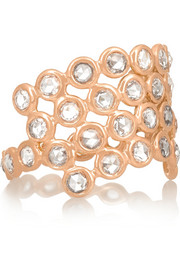 Hive Protection 18-karat rose gold diamond ring