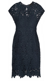 Collection scalloped guipure lace dress