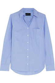 Boy End-On-End cotton-poplin shirt