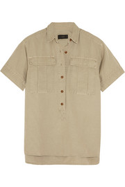 Kennebuc linen and cotton-blend shirt