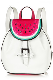 Ziggy Watermelon leather backpack