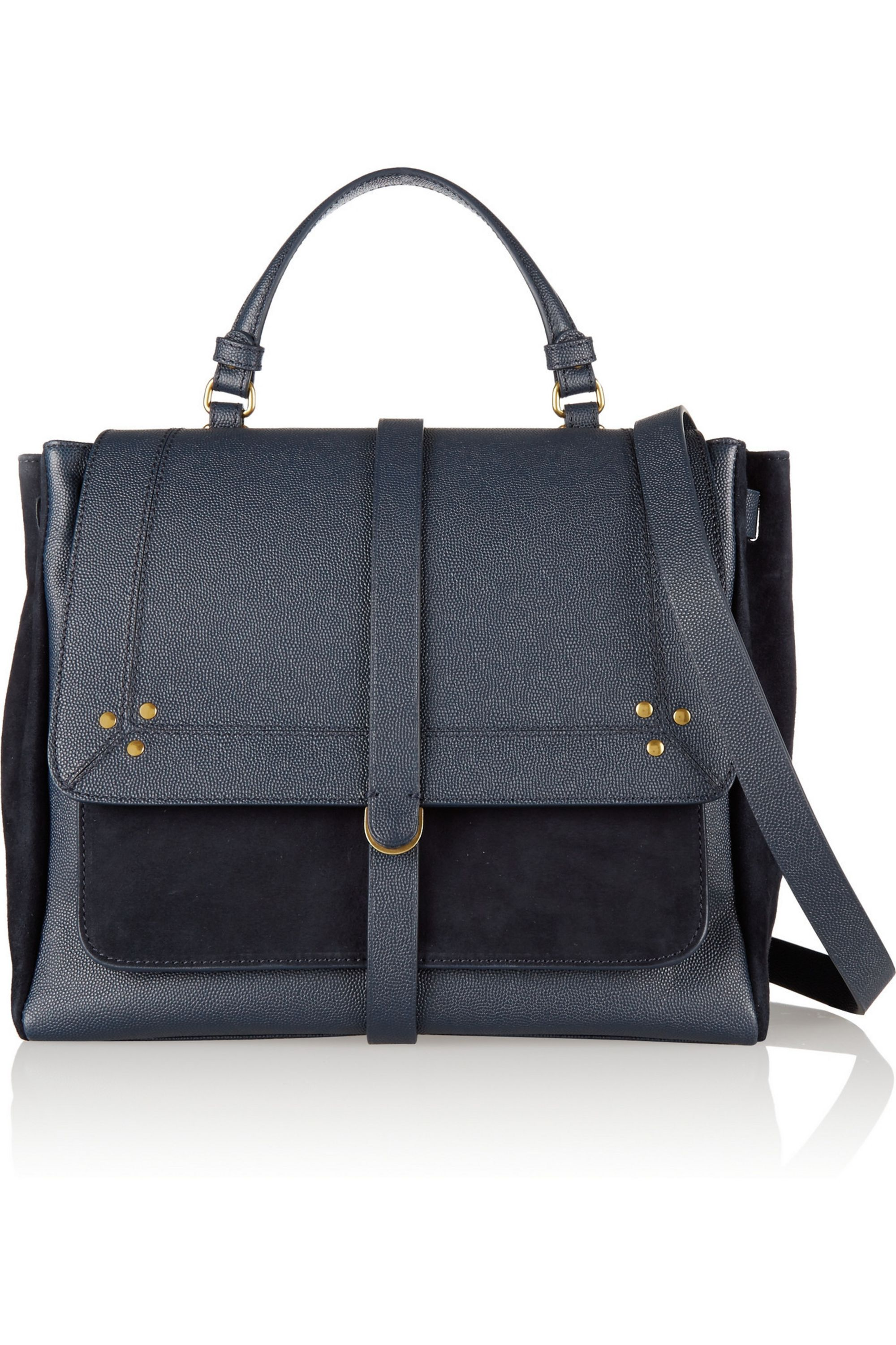 Jérôme Dreyfuss Edoard textured-leather and suede tote
