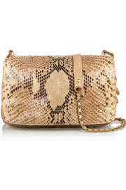 Bobi python shoulder bag
