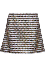 Thakoon Cotton-blend tweed mini skirt