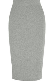Cotton-jersey skirt