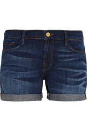 Le Cutoff stretch-denim shorts