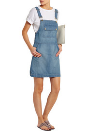 Le Apron denim mini dress