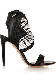 Oasis woven leather sandals