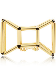+ WXYZ gold-plated hair clip