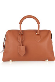 Cornelia textured-leather tote