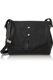 Downing leather shoulder bag