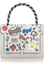 Anya Hindmarch Bathurst All-Over Stickers small shoulder bag