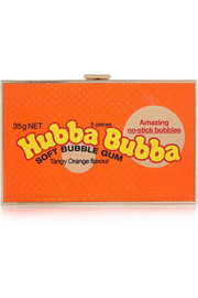 Anya Hindmarch Imperial Hubba Bubba elaphe clutch