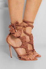 Yuna braided leather sandals
