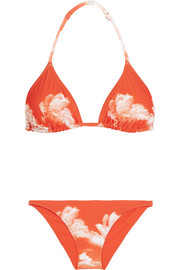 Nicola and Barletta printed triangle bikini