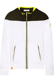 Monreal London Hooded stretch-jersey jacket