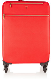 Serapian Evolution textured-leather suitcase