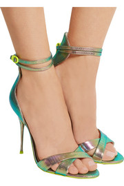 + Sophia Webster Nicole textured-leather sandals