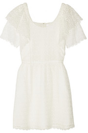 Chloé Crocheted lace mini dress