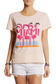 Solid and Striped + Donald Robertson Miami cotton T-shirt