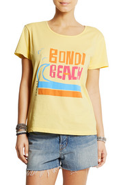Solid and Striped + Donald Robertson Bondi Beach cotton T-shirt