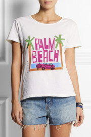 Solid and Striped + Donald Robertson Palm Beach cotton T-shirt