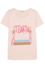 + Donald Robertson St Barths printed cotton T-shirt