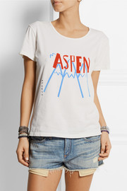 Solid and Striped + Donald Robertson Aspen printed cotton T-shirt
