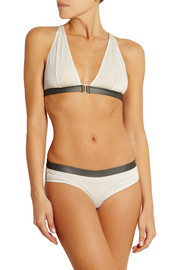 Knox stretch-jersey and neoprene soft-cup bra