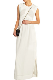 Flony cutout crepe maxi dress