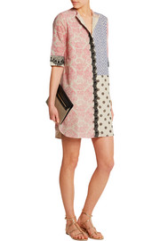 Vineet Bahl Printed cotton-gauze mini dress