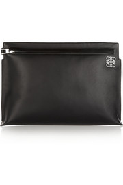 Loewe Large leather clutch