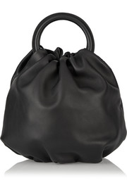 Bounce large leather tote