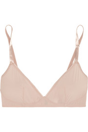 Smooth Tactel® soft-cup bralet