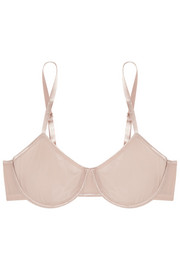 Smooth Tactel® underwired bra