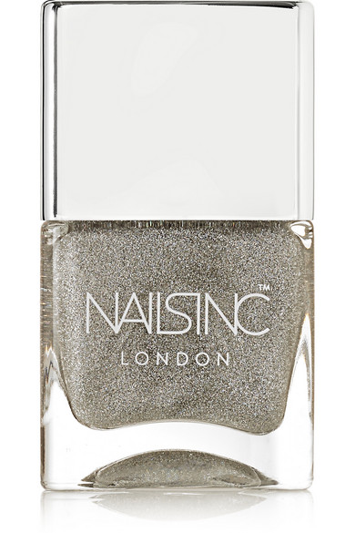 Nails inc - Holographic Top Coat - Electric Lane