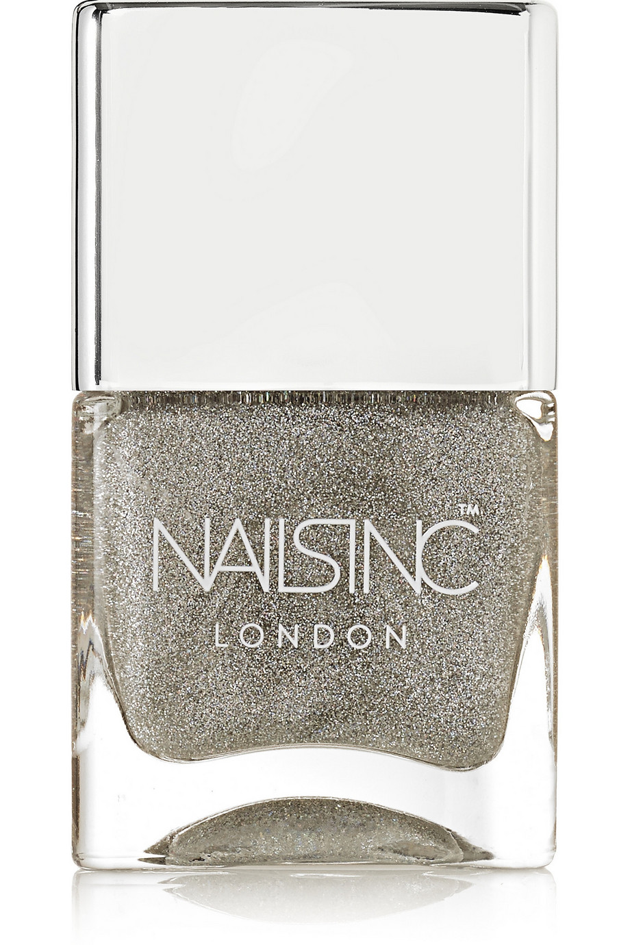 Holographic Top Coat - Electric Lane, by Nails inc